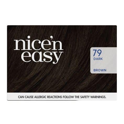 buy clairol nice n easy non permanent hair colour 8 clairol nice n easy non permanent hair color 79 dark