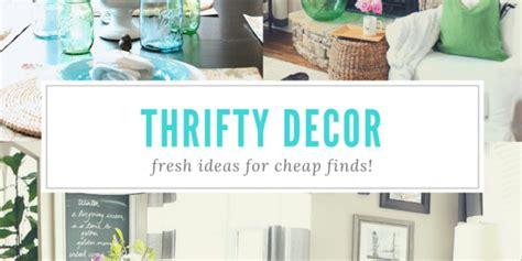 thrifty decor refresh restyle