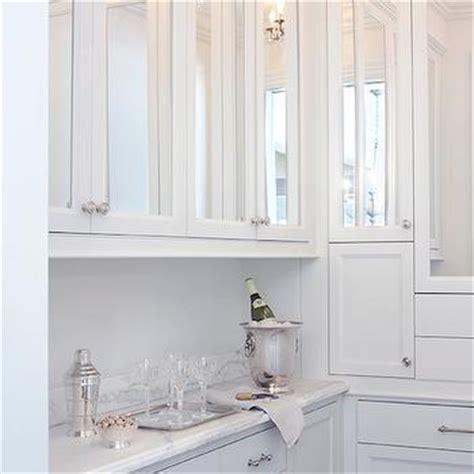 mirrored kitchen cabinet doors mirrored cabinet doors contemporary kitchen