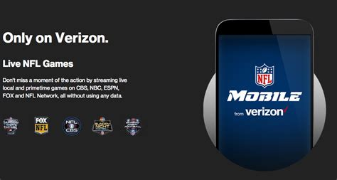 nhl mobile verizon exempts its own nfl app from mobile data