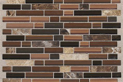 mohawk backsplash treasure brown toffee in mohawk flooring tile