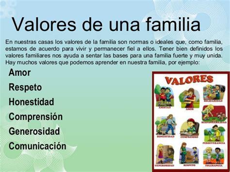 imagenes de la familia y sus valores el amor en la familia