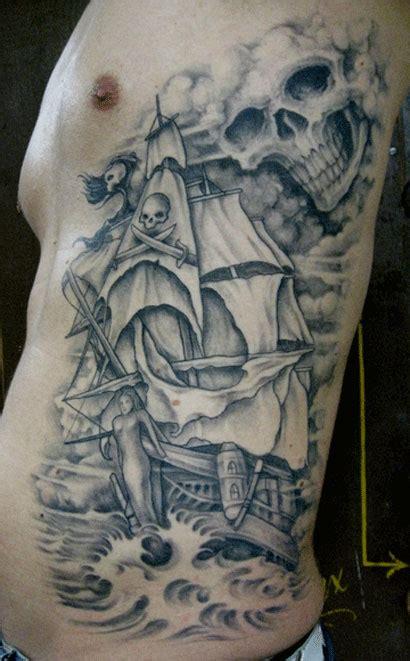 ghost ship tattoo designs 58 ghost pirate ship tattoos ideas