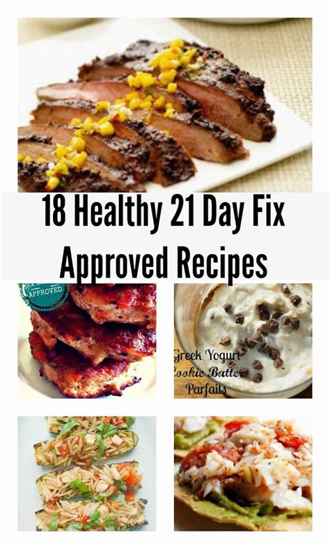healthy s day recipes 21 day fix recipes for the 21 day fix by beachbody