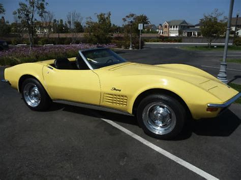 daytona yellow 1970 corvette paint cross reference