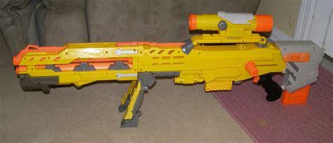 Nerf Longshot Cs 6 Yellow nerf n strike longshot cs 6 rifle w scope yellow