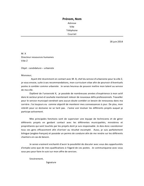 Lettre De Motivation De Municipale Lettre De Motivation Infographiste Le Dif En Questions