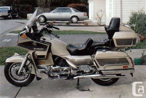 Suzuki Cavalcade Parts 1986 Suzuki Cavalcade 1400 Glx Touring Motorcycle Bike