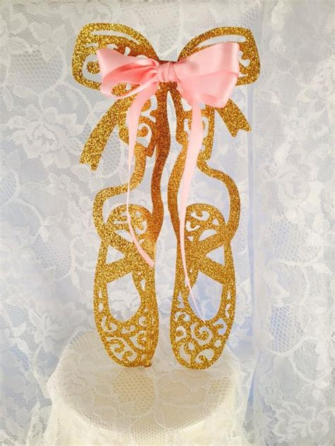 ballet slipper cake topper ballerina slippers cake topper ballerina shoes cake topper