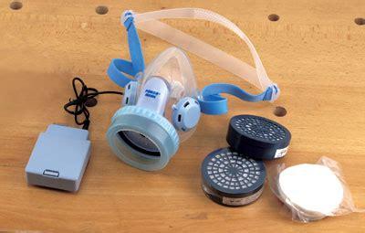 powered dust mask woodworking positive pressure respirator woodbarter