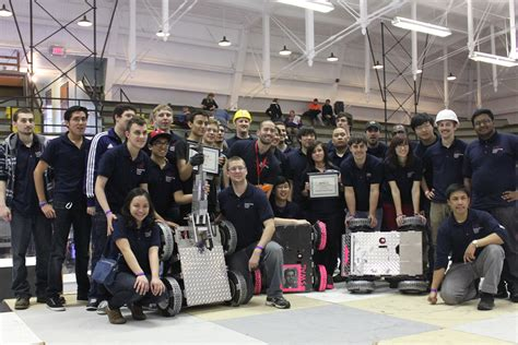 design technology competition uic robots crush midwestern competition uic today