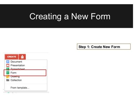 google drive form tutorial updated google forms tutorial