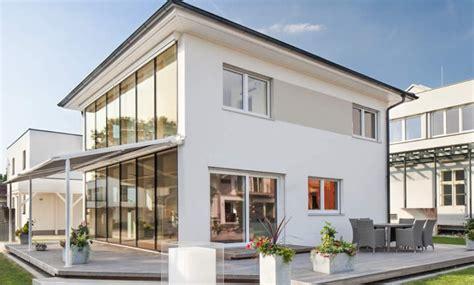 Außenlen Haus by Haas Fertigbau Vita 125 Blauelagune At