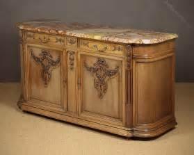 sideboard credenza marble top walnut sideboard credenza antiques atlas