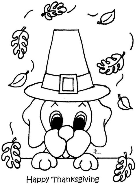 mickey mouse thanksgiving coloring pages