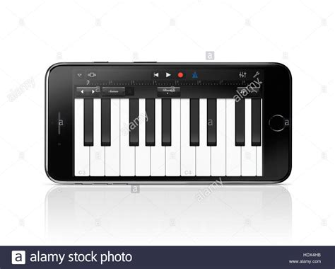 Piano Garage Band by Apple Iphone 7 Plus With Piano Keyboard Garage Band Apple