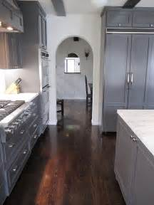 Grey Wood Floors Kitchen Wood Floor Great Color Flooring