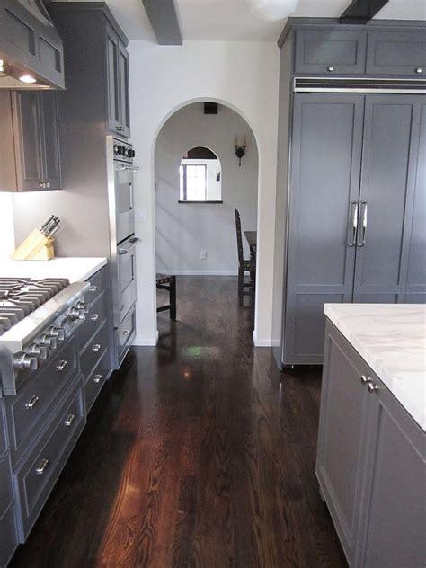 grey wood floors kitchen wood floor great color flooring