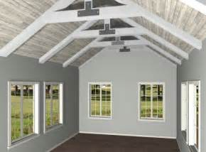 home designer pro vaulted ceiling truss cathedral ceiling creating exposed trusses in a