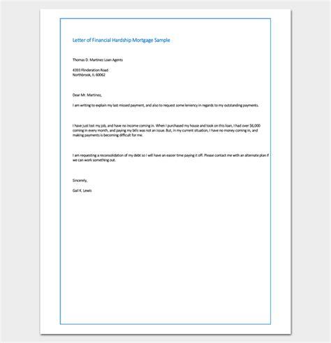 Student Finance Letter Explained sle letter of financial hardship mortgage sle