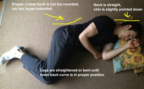 sore hips while sleeping on side back when sleeping modern health monk