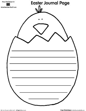 shaped writing template free easter writing and shape book pages hoppin
