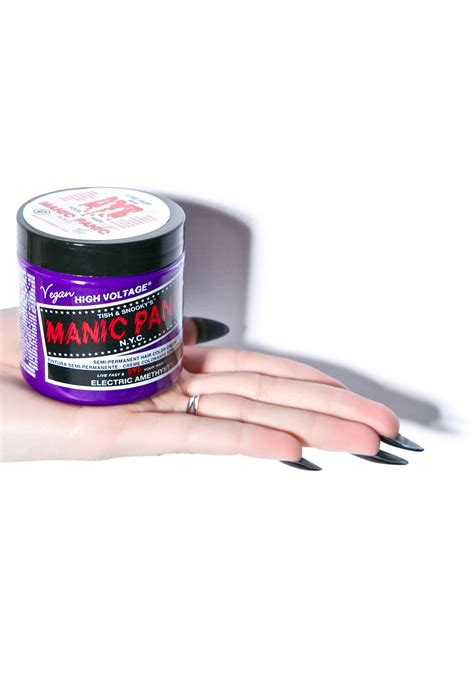 Manic Panic Classic Electric Amethyst Berkualitas manic panic electric amethyst classic hair dye dolls kill