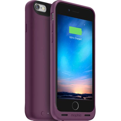 h iphone 6 mophie juice pack reserve battery for iphone 6 6s 3368 b h