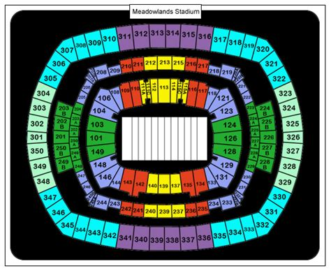 redskins seating chart washington redskins stadium seating chart