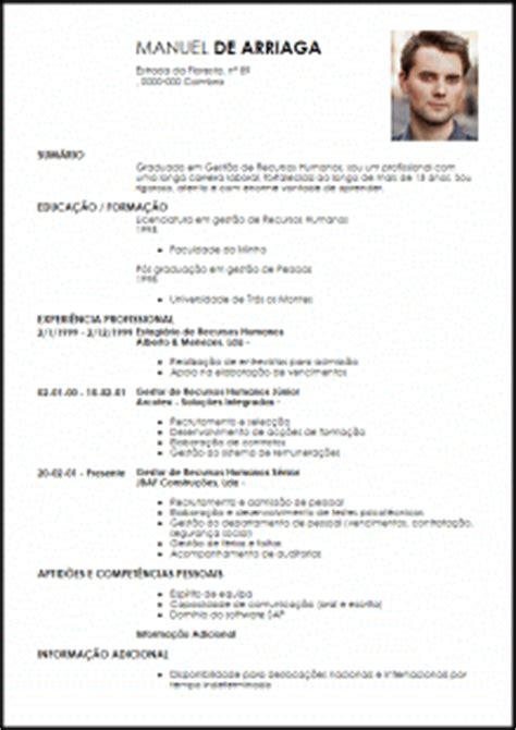 Modelo Curriculum Vitae Para Recursos Humanos Modelo Curriculum Vitae Coordenador De Rh Livecareer