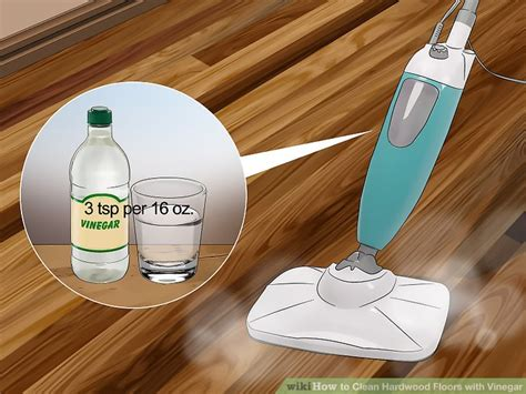 Cleaning Hardwood Floors With Vinegar 3 Ways To Clean Hardwood Floors With Vinegar Wikihow