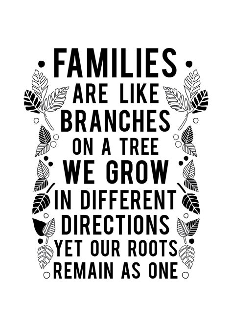 are you a branch on our family tree us history families are like branches on a tree print
