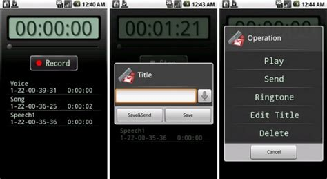 voice recorder android android app of the day voice recorder