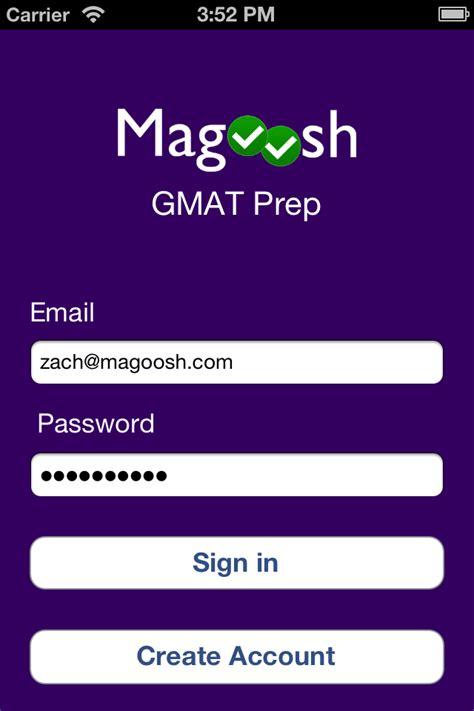 Gmat Mba Login by Gmat Prep Iphone App Magoosh Gmat
