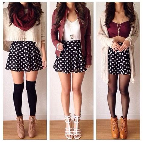 cute patterned skirts patterned skater skirt outfits women s style pinterest