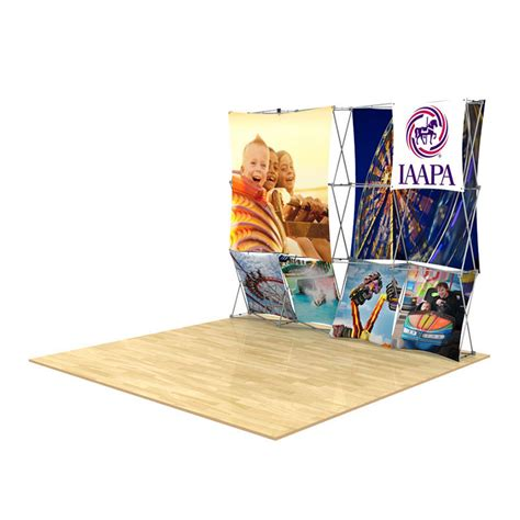 floor display 3d 4x3 3d snap floor display layout 4 impact displays