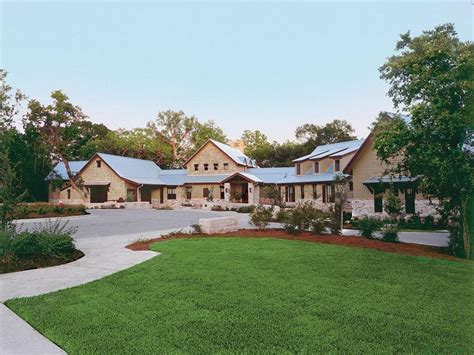 texas home design sprawling texas ranch style home