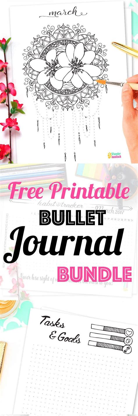printable bullet journal guide 1588 best planners images on pinterest journal ideas