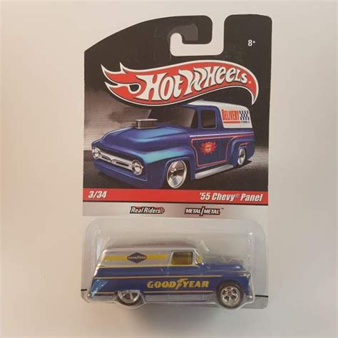 wheels 55 chevy diecast hotwheels 55 chevy panel real riders wheels diecast