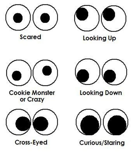 printable crazy eyes 439 best cartoon eyes faces ect images on pinterest