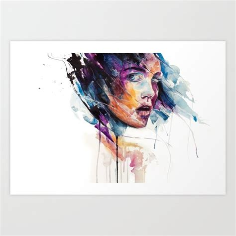colored glass sheets sheets of colored glass print by agnes cecile society6