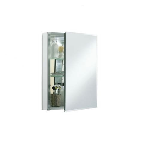 20 medicine cabinet kohler 20 in x 26 in rectangle surface recessed mirrored