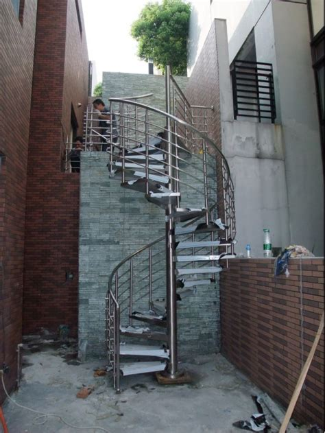 Handrail For Spiral Staircase china stainless steel outdoor spiral stair staircase handrail china stairs staircase