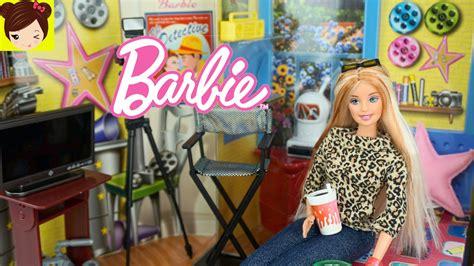 habitacion de barbie  muebles estilo directora de cine