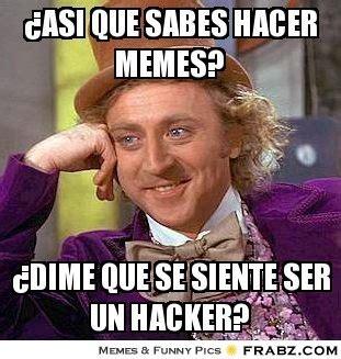 Hacer Memes 191 Asi Que Sabes Hacer Memes Willy Wonka Meme