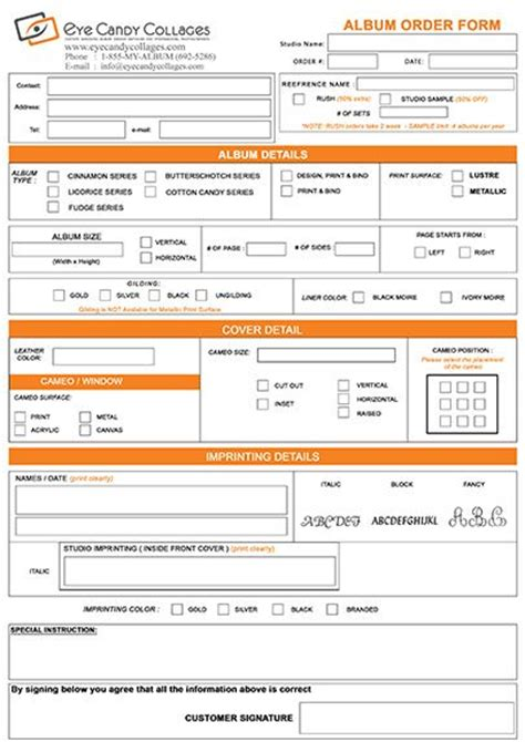 order form graphic design inspiration pinterest