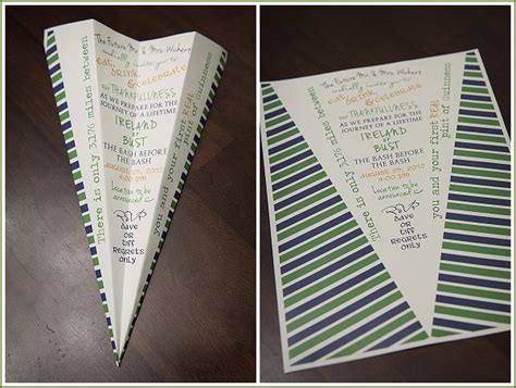 airplane invitation template the bash before the bash appletini photography