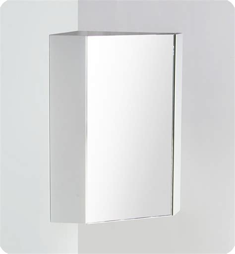white corner medicine cabinet with mirror fresca coda 18 quot white corner medicine cabinet w mirror