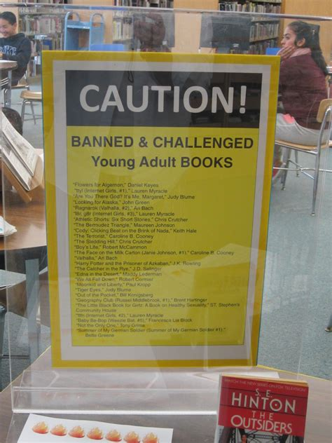 books that been banned or challenged banned books week is september 27 2015 october 3 2015