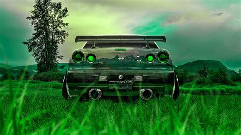 nissan jdm cars nissan skyline gtr r34 back crystal nature car 2014 el tony